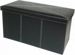 Tempo Kondela Skládací taburet MOLY + kupón KONDELA10 na okamžitou slevu 3% (kupón uplatníte v košíku) s úložným prostorem - Lavice na SEDI.cz