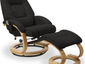 Relaxační masážní křeslo Matador Černé