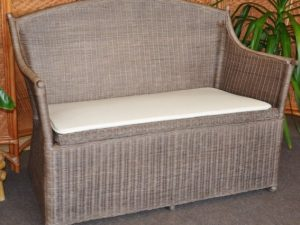 Ratanové axin Trading Ratanová lavice s úložným prostorem