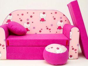 Dětská pohovka Hello Kitty
