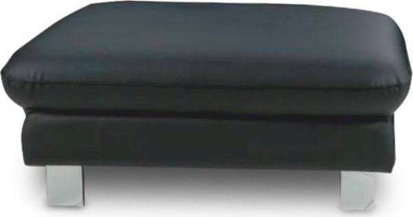 Tempo Kondela Kožený taburet RIVER