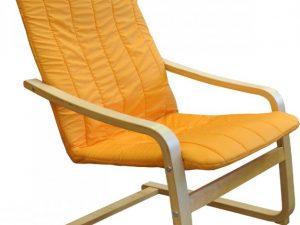 Křeslo LISA oranžové K79