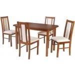 Jídelní sety 4+1 - Stůl a čtyři židle