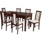 Jídelní sety 6+1 - šest židlí a jeden stůl