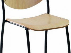 Konferenční židle Wendy dřevěná
