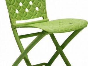 Židle Zag Spring Polypropylen rosso - červená