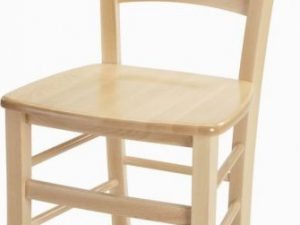 Dřevěná židle Venezia - masiv dub sonoma - II. jakost
