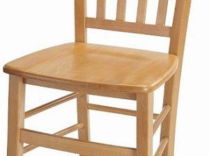 Dřevěná židle Pamela - masiv Tmavě hnědá