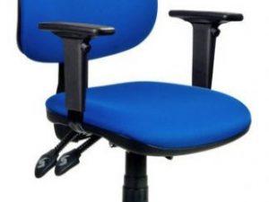 Kancelářská židle 1180 ASYN C - chromovaný kříž