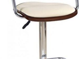 Barová židle H-19 Ořech/černá