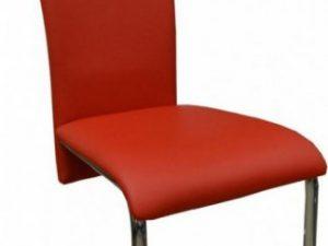 Jídelní židle FA-2 červená