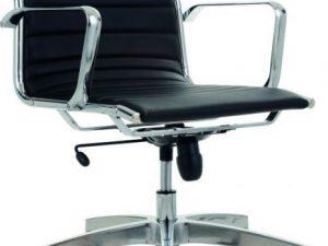 Kancelářská židle KASE 8850 Ribbed - nízká záda