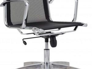 Kancelářská židle 8850 Kase mesh - nízká záda Bílá síť