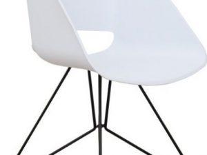 Jídelní židle FRAME - bílá