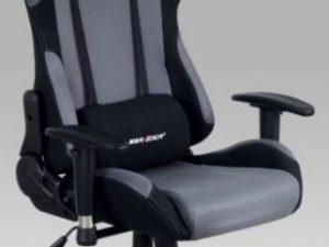 Kancelářská židle KA-F01 BLUE - modrá