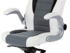 Kancelářská židle KA-E240B RED - černá/červená