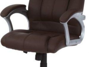 Kancelářská židle KA-N637 BR - Hnědá