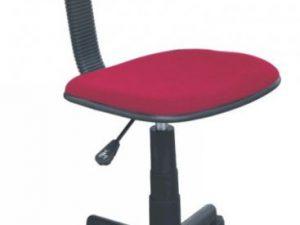 Dětská židle TC3-802P - červená - II. jakost