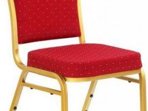Jednací židle K66 Zelená/zlatá