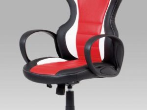 Kancelářská židle KA-E910 RED - červená