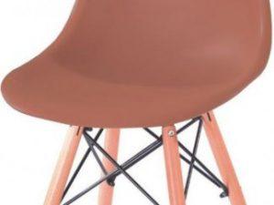 Jídelní židle P-623 - hnědá
