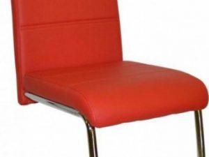 Jídelní židle Y  - červená