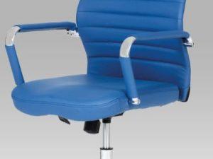 Kancelářská židle KA-Z615 BLUE -  modrá