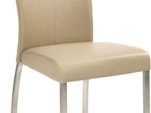 Jídelní židle K178 - tmavě béžová