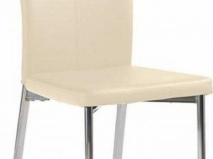 Jídelní židle K113 Krémová