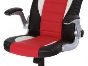 Kancelářská židle KA-N240 GREY - šedo-černá