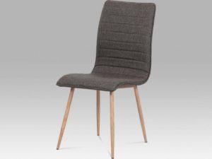 Jídelní židle HC-368 LAN -lanýžová koženka