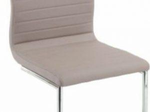 Židle OTILA - béžová ekokůže