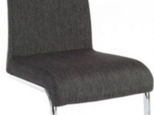 Jídelní židle AMINA - tmavě šedá