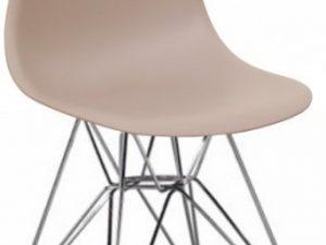 Židle ANISA NEW - teplá šedá