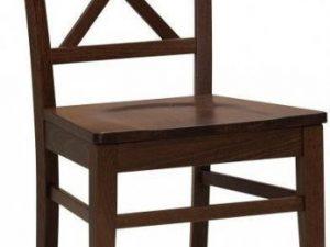 Dřevěná židle Grande masiv Bílá