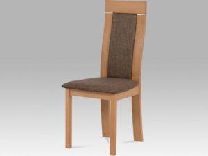 Jídelní židle BC-3921 TR3 - barva třešeň