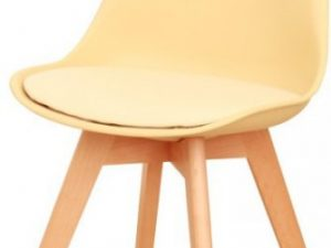 Židle BALI - cappucino vanilková