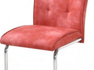 Jídelní židle Dallas - červená