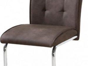 Jídelní židle Dallas - hnědá