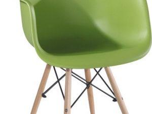 Jídelní židle DAMEN NEW - zelená