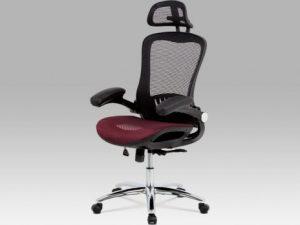 Kancelářská židle KA-A185 BK - černý sedák