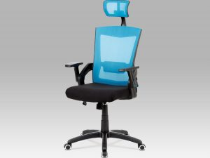 Kancelářská židle KA-G216 BLUE - modrá
