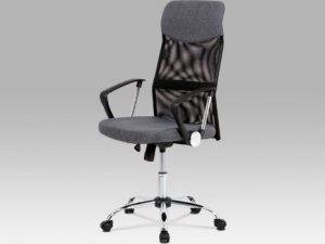 Kancelářská židle KA-E301 BLUE - modrá látka +  MESH
