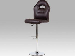 Barová židle AUB-606 BK - černá