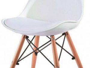 Židle KEMAL - bílá