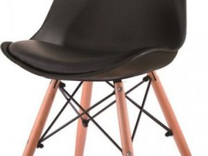 Židle KEMAL - tmavě šedá