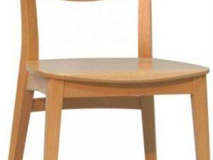 Jídelní židle Sky Tmavě hnědá