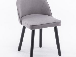 Židle LALIMA - šedohnědá