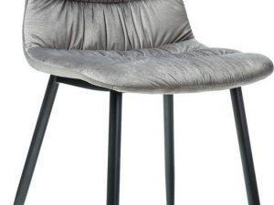 Jídelní čalouněná židle VEDIS šedá