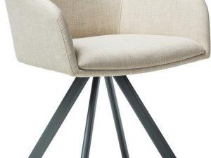 Jídelní čalouněná židle MIL II béžová